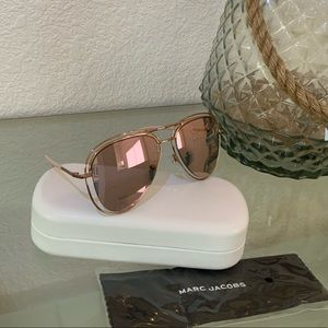 Marc Jacobs Mirrored Double Rimmed Aviator NWT